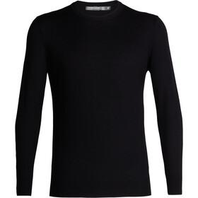 Icebreaker Shearer Sweat-shirt à col ras-du-cou Homme, black